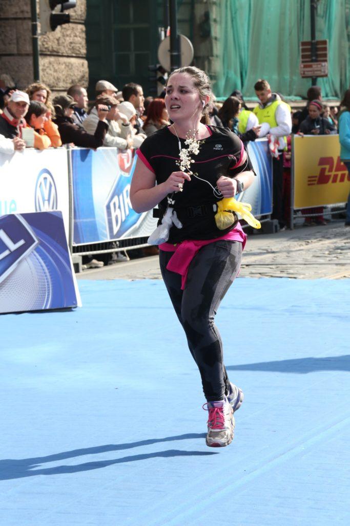 J'ai compris que j'étais devenue une véritable runneuse au semi-marathon de Prague