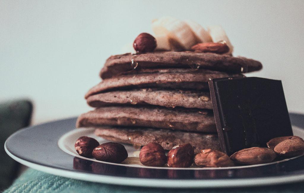 pancakes vegan à la banane 2