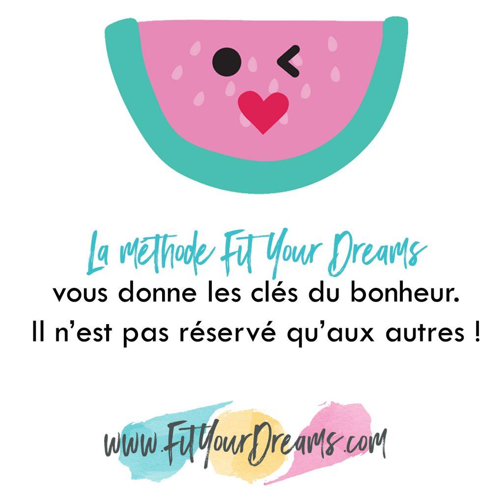 méthode fit your dreams