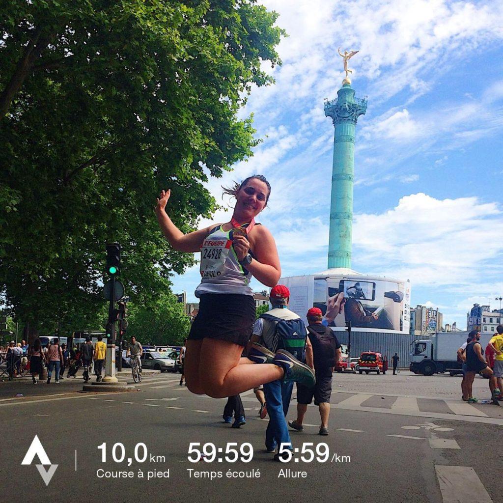 10 km l'Equipe 2017 #running