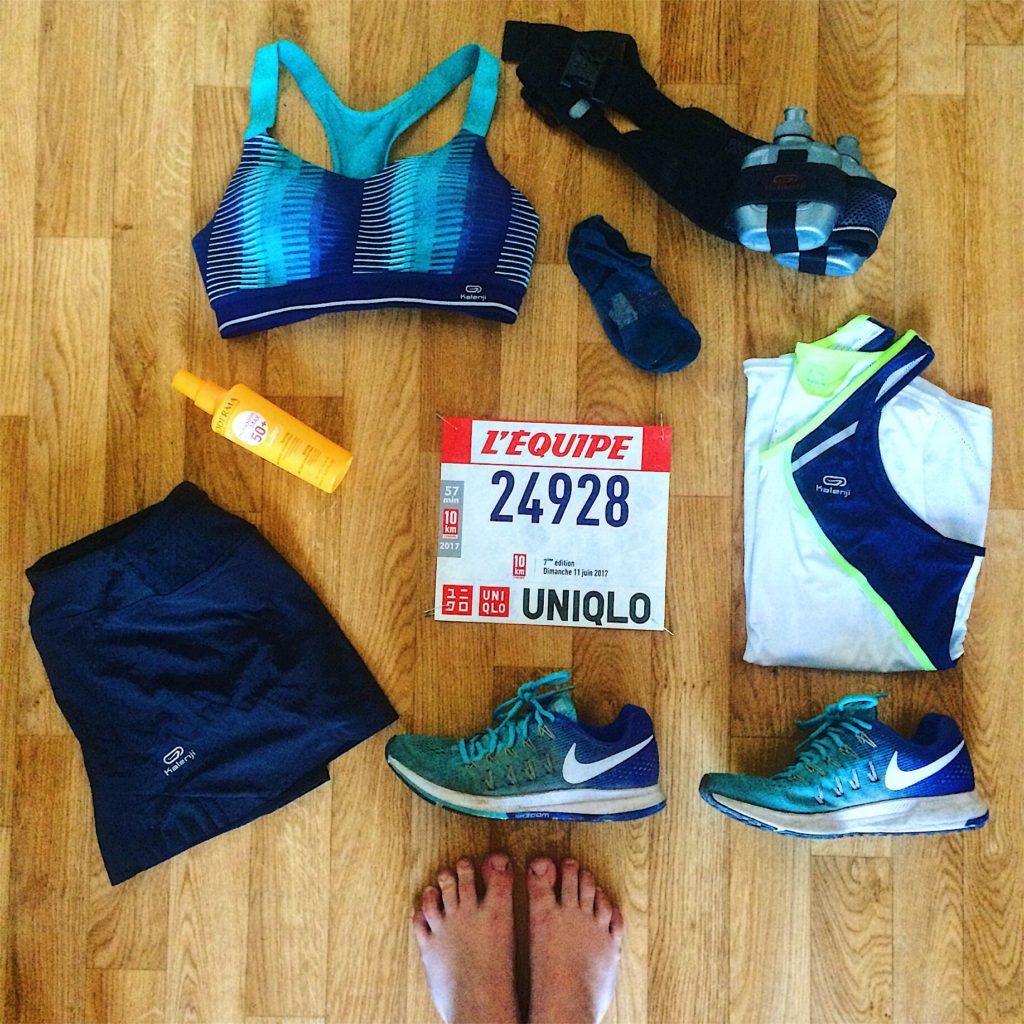10 km l'Equipe 2017 #running #racepack