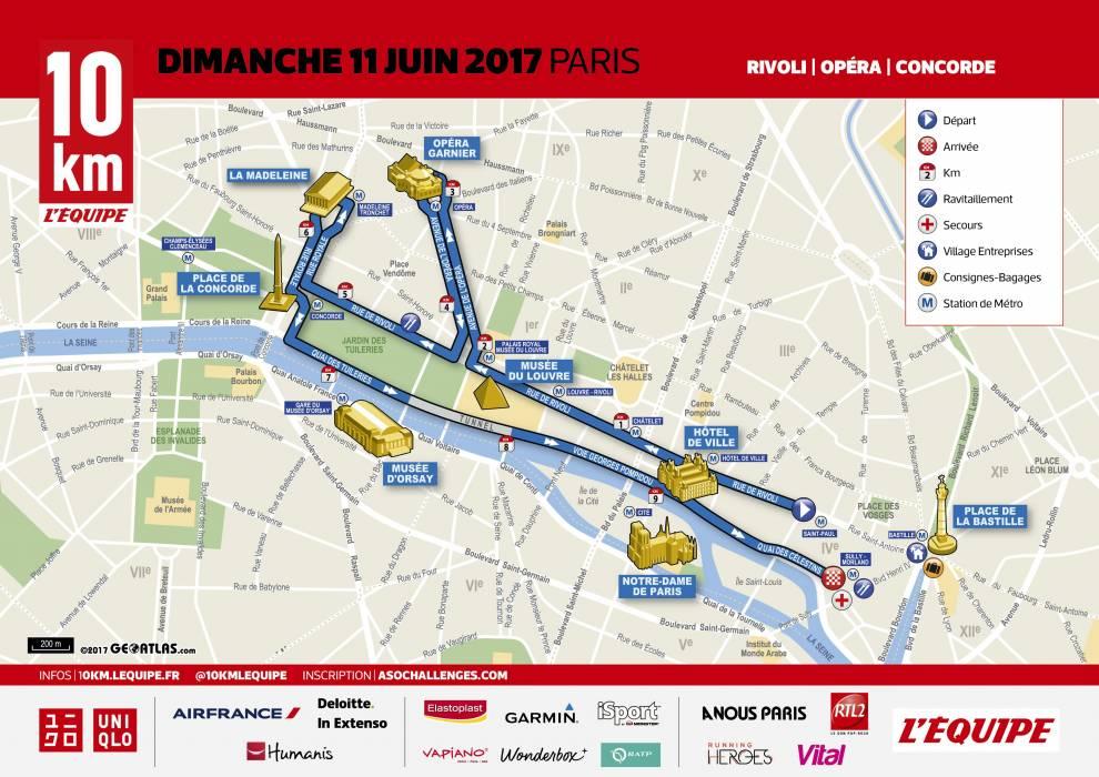10 km l'Equipe 2017