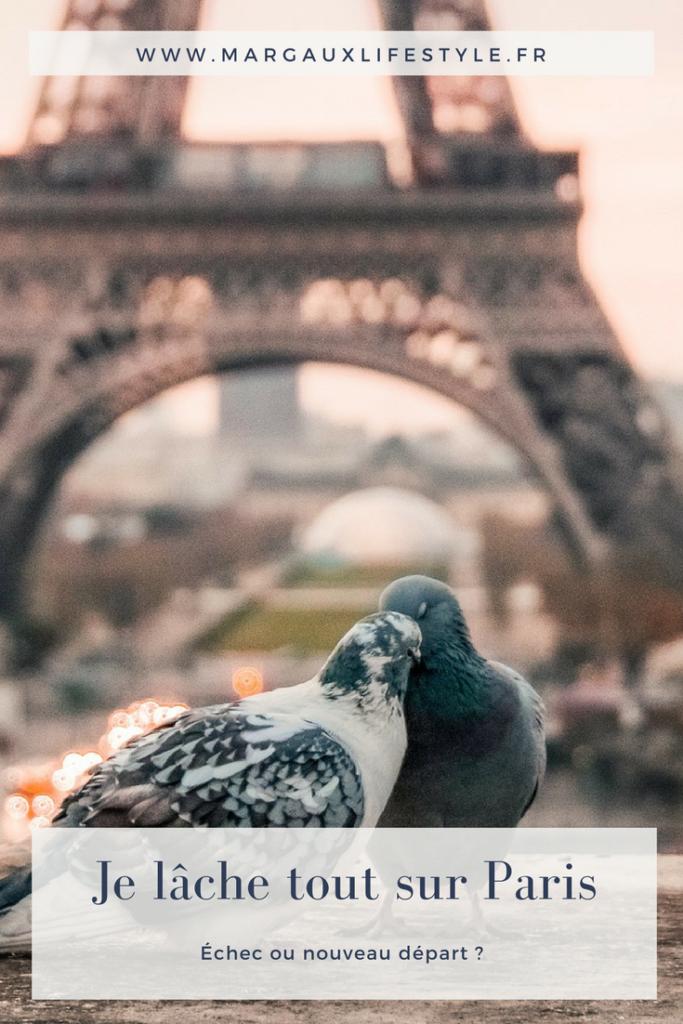 Je lâche tout sur Paris