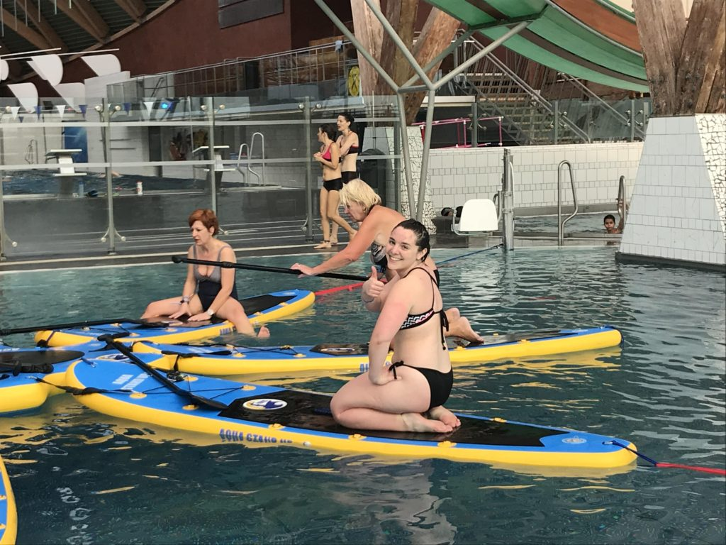 j'ai testé l'aqua stand up paddle
