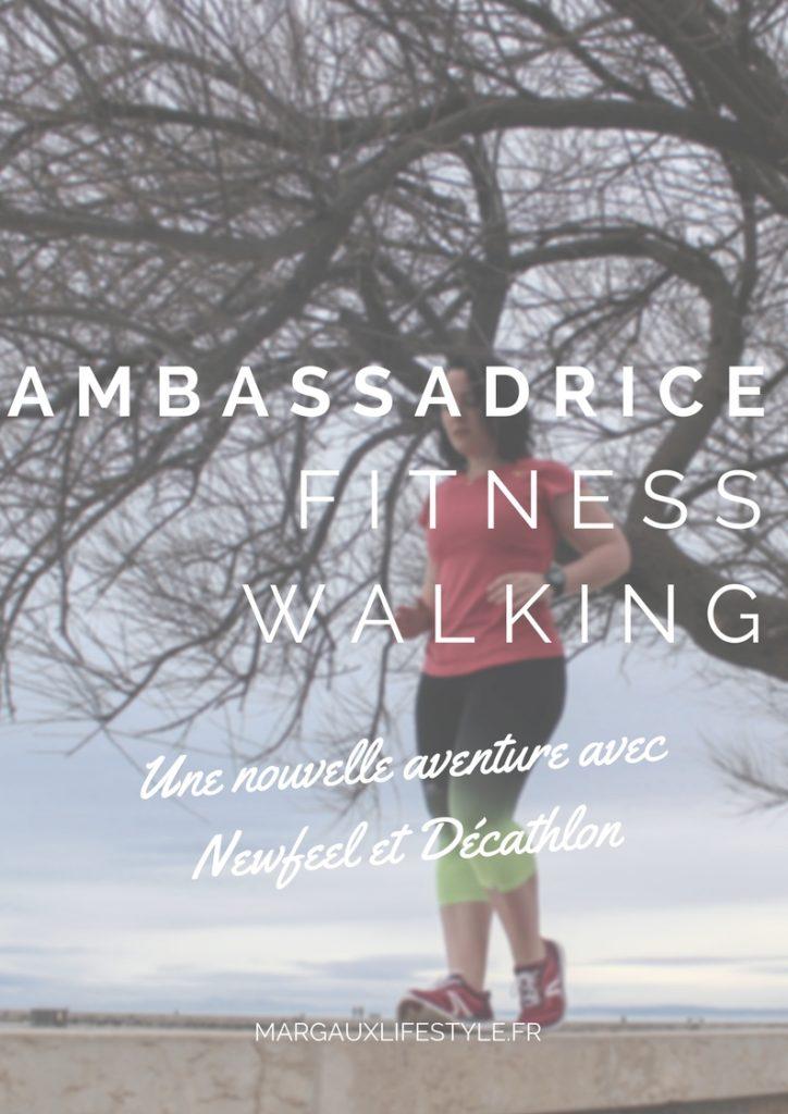 Ambassadrice fitness walking pour newfeel