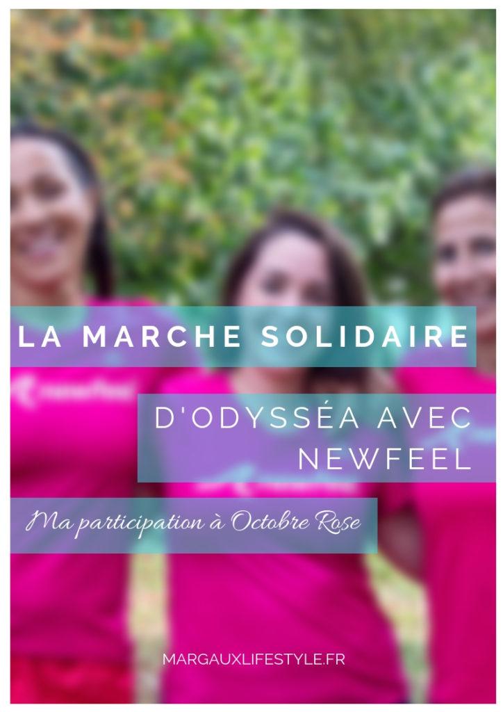 Retour sur la marche solidaire d'Odysséa, ce samedi 06 Octobre 2018 sous les couleurs de Newfeel