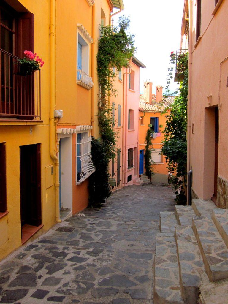 les rues colorées de Collioure