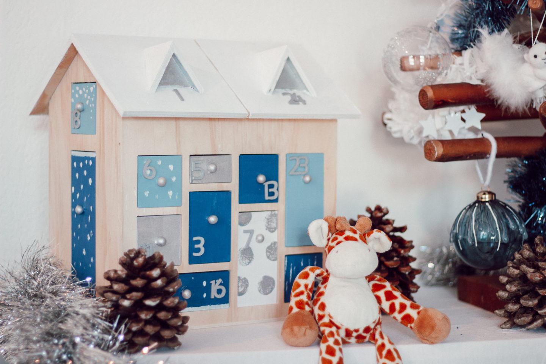 DIY de Noël : un calendrier de l'avent en bois à réaliser soi-même