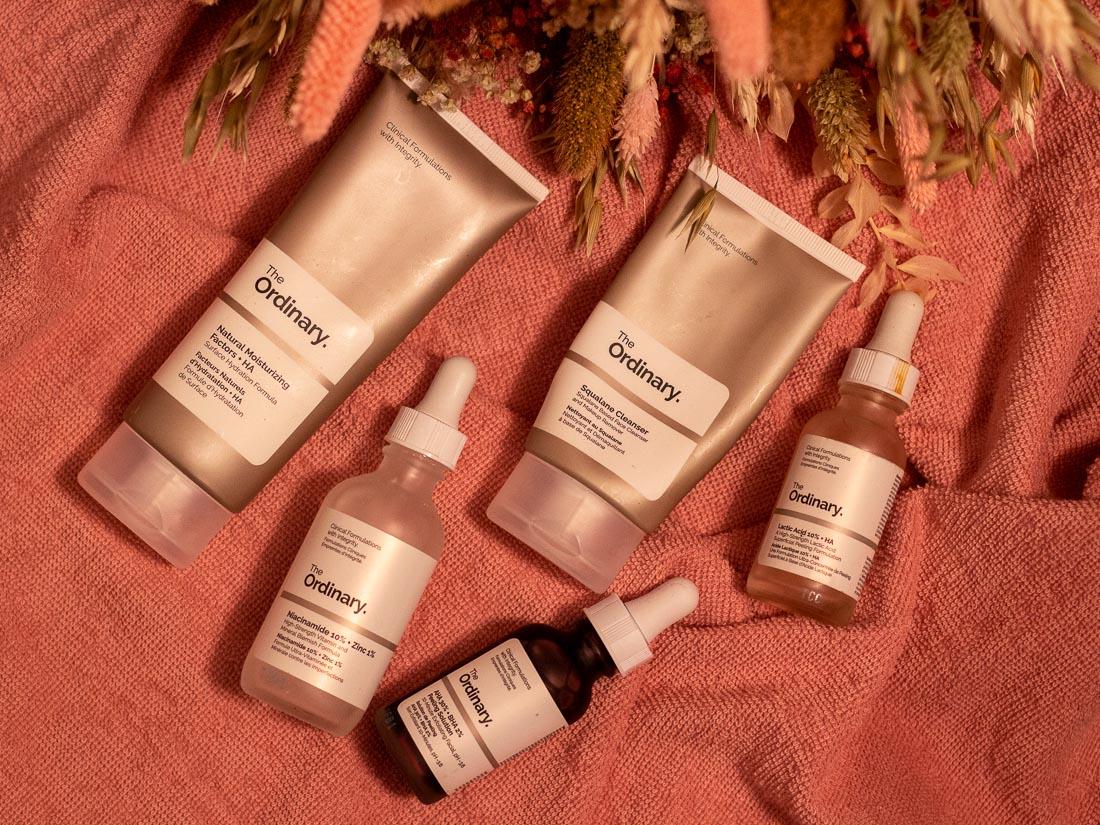 les produits The Ordinary un atout pour avoir une belle peau